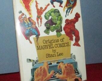 """Stan Lee's """"Origins of MARVEL COMICS"""""""