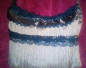 black lace bag
