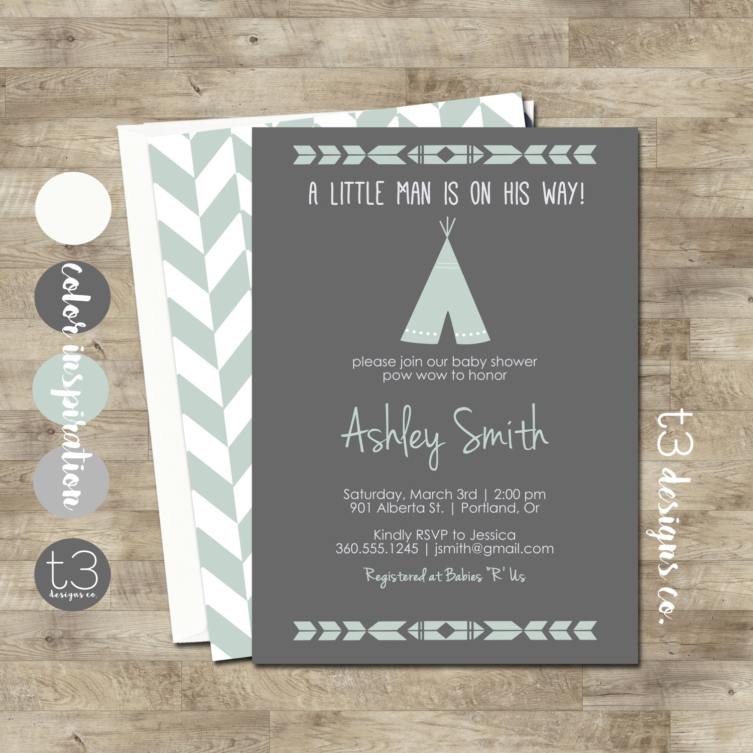 Instant Download TEEPEE Baby Shower Invitation, Indian Baby shower ...