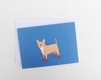 Chihuahua - Dog Card - Blank
