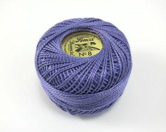 Lavender Finca Perle Cotton Thread