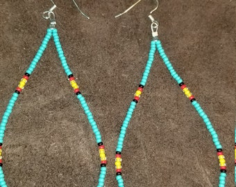 Cherokee tear drop earrings
