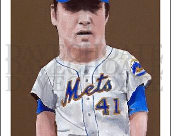 Tom Seaver, 1969 New York Mets Art Photo Print