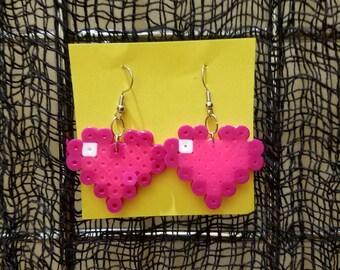 Pixel Heart Earrings