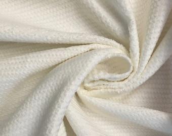 White pique cotton Velvet