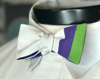 The Luxo - Our Pixar Inspired bowtie in Buzz Lightyear Colors