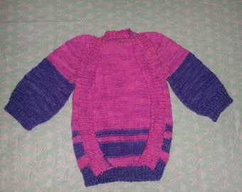 Frontless Baby Cardigan For A Mothers Touch
