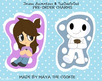 PRE ORDER - JaidenAnimations and TheOdd1sOut Charms