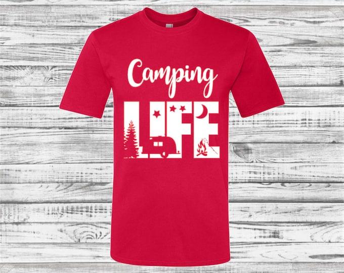 Custom Camping Shirts, Camping tee shirts, Camp Tees, Teepee, Road Trip, Camping Trip, Mountains, Hiking, Adventure, Road Trip Shirts