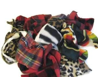 Fabrics, Scraps, Fleece, Quilting, Patchwork, Quilts, Sewing, Fiber Arts, Gifts, Throws, Gallon, Bag, Fiber, Crafts