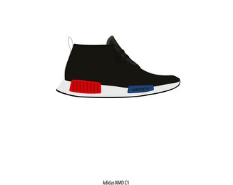 Adidas NMD C1 poster