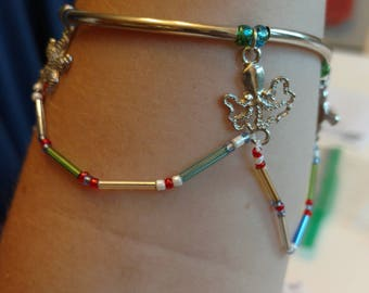 Double Banded Sea Animal Bracelet