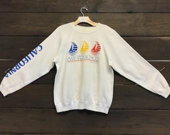 Vintage 80s San Francisco Sweatshirt