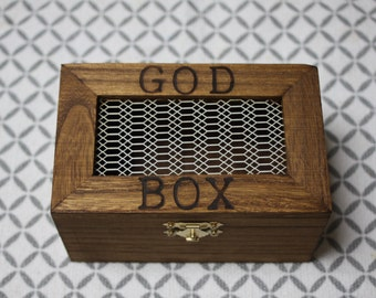 God Prayer Box