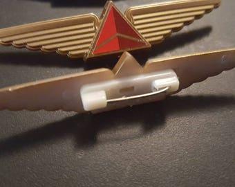 Delta Air Lines kiddie wings. Pre-Merger with North West
