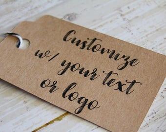 IHREN TEXT hier zugunsten Ihrer Logo hier, Hochzeit Tag, Branding-Tag, Marketing