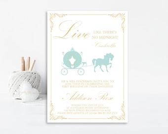 Fairytale Invitation, Princess Invitation, Birthday Invitation, Fairytale Party, Princess Party, Princess Birthday, Printable Invitation