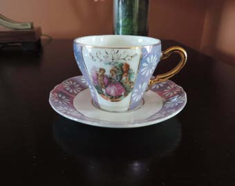 Cup - Victorian - Japan - Vintage Style