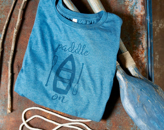 Canoe Shirt Lake Life shirt outdoor shirt outdoor explorer shirt nature lover shirt