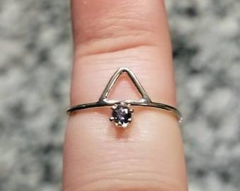 Handmade Montana sapphire ring