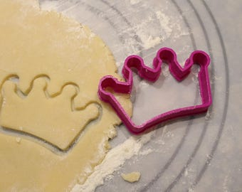 Crown Cutter and Fondant Cutter, Crown Cookie Cutter, Princess Tiara, Crown cookie cutter, Party Supply, Birthday,Child Party,Children Party