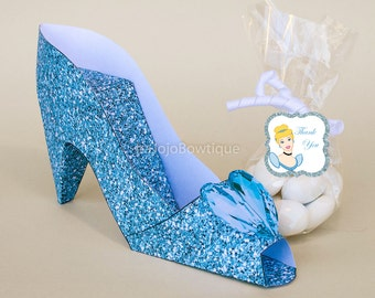 Princess Castle Paper Shoe Gift Box