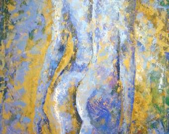 Nude Figurative Painting Large