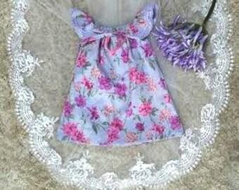 Purple Seaside Dress