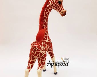 SOLD! Needle Felted Giraffe
