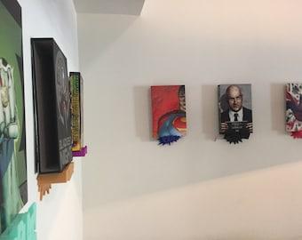 Comic Book Display Shelves - 3D Printed Display Shelf - DC Absolute Display