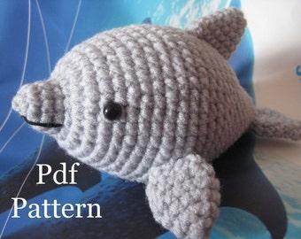 Dolphin Amigurumi Crochet Pattern