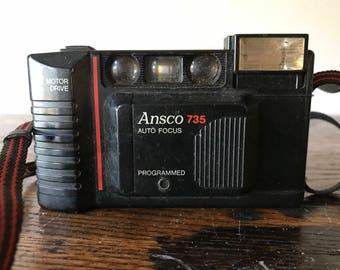 Original Ansco 735 Auto Focus Camera