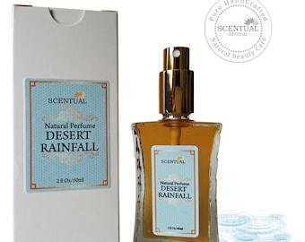 ON SALE Organic Desert Rain Perfume Oil, Natural Desert Rain Perfume, Vegan Perfume, Natural Perfume Oil, Gift Idea