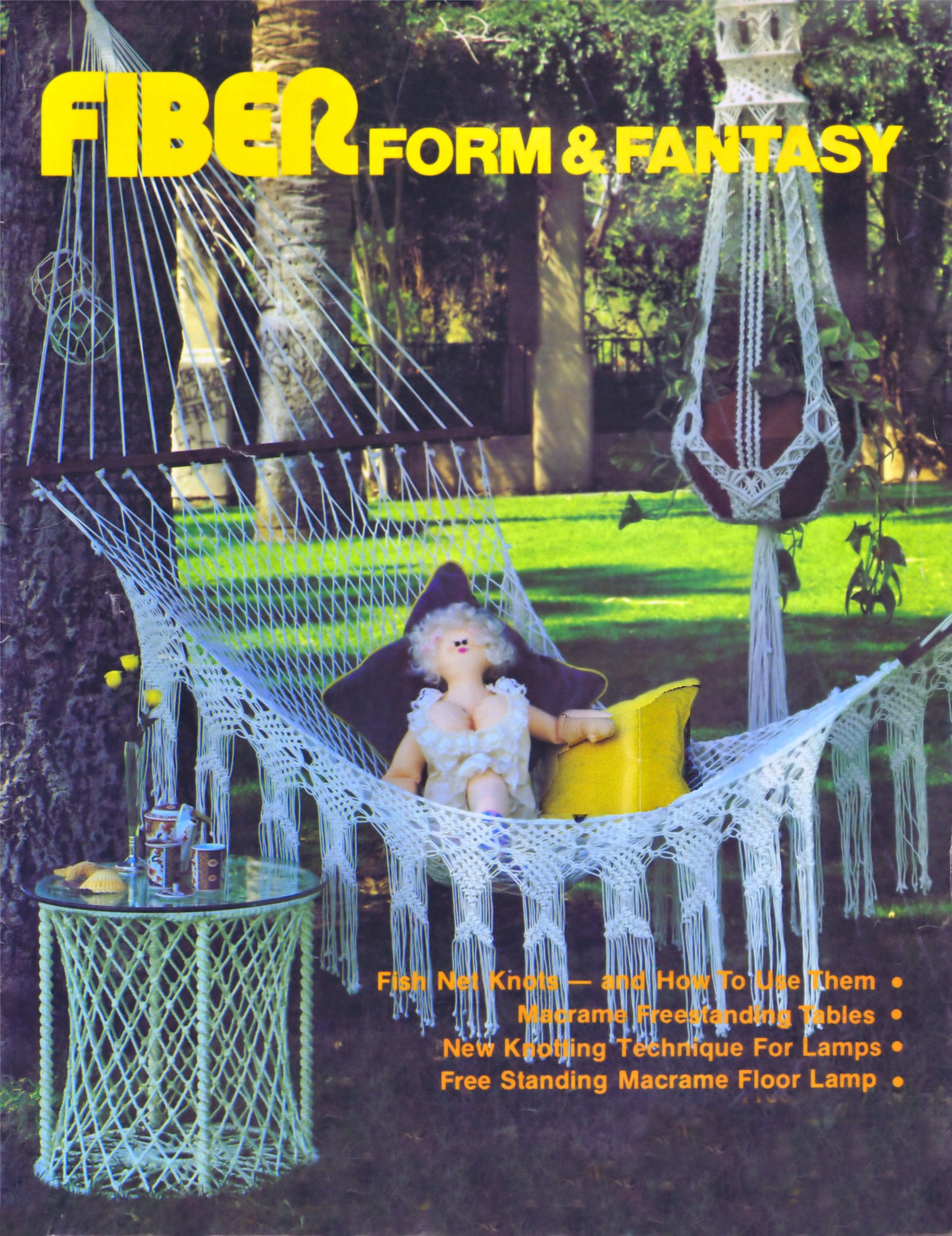 Vintage Macrame Patterns Twenty Eight Designs Lamp Shades Hanging ... for Macrame Table Lamp  150ifm