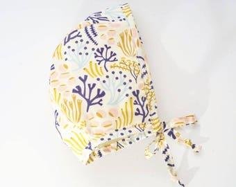 Organic Cotton Basic Bonnet - LAST ONE!