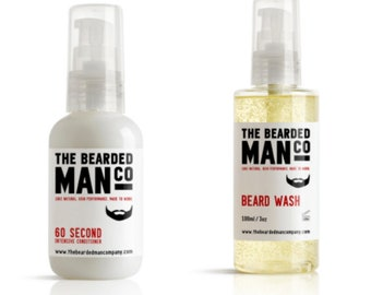 Beard Wash & 60 Second Conditioner Combo