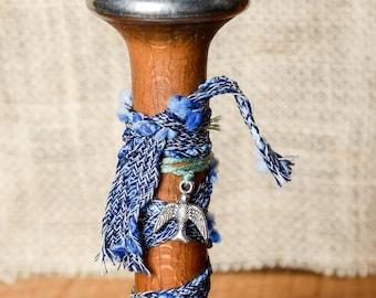 Vintage Textile Spool small-Home Decor-Embellished Vintage Decor
