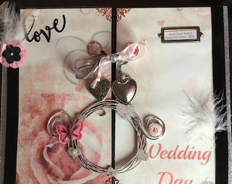 WEDDING SCRAPBOOK ALBUM