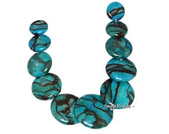 Dragon Blood Jasper Gemstone Loose Beads Graduated Set 11 Beads (90143907-108)