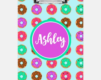 Donuts Clipboard | Personalized Clipboard | Teacher Clipboard | School Clipboard