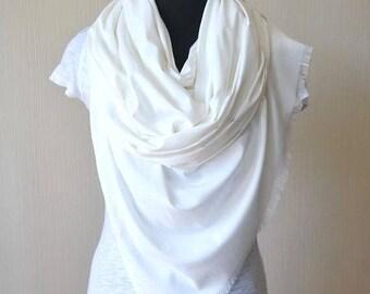 white scarf wedding shawl womens gift for women bridal shawl bridal cover up wedding scarf cotton scarf wedding gift for mom womens scarves