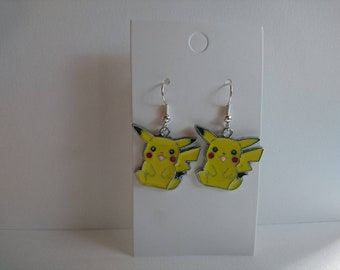 Pikachu Drop Earrings