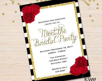 Meet the Bridal Party Invitation