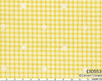 Hill Farm - Yellow Gingham by Brenda Riddle for Lecien Fabrics