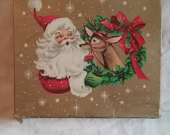 Unique Vintage Christmas Cards in Original Box