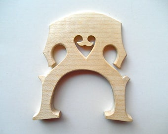 Cello bridge vintage used parts for crafts