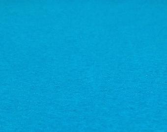 Neon Blue Felt Sheets - 6 pcs - Rainbow Classic Eco Fi Craft Felt Supplies