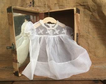 Antique Baby Dress - sheer