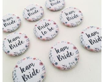 Badge - bachelorette party wedding •