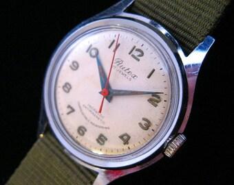 RUTEX - Military Inspired Swiss Watch - c.1940's-50's